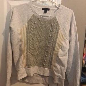 Jcrew sweatshirt/sweater!! COMFY!!